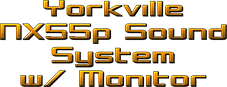 Yorkville NX-55P Sound System with Monitor