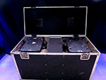 2 - High End Systems Studio Spot 250s with Case USED